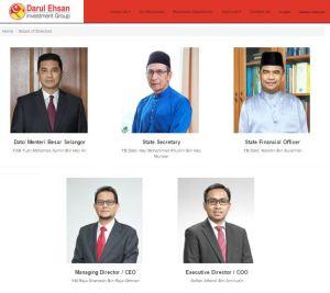 DEIG官网显示其董事局共有5位成员